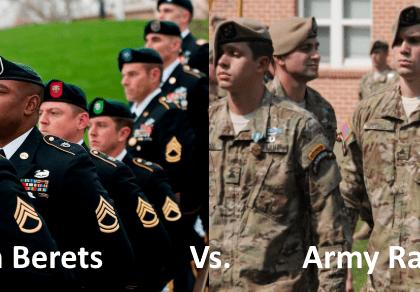 green beret vs army ranger