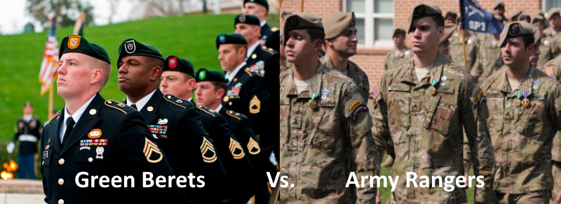 71cde50b0f128 Green Berets Vs. Rangers  5 Major Differences