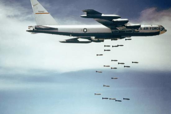 an Bomber/Special Electronic Warfare and Radar Surveillance Integrated Avionics at work