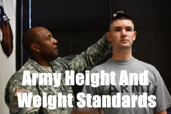 Army Height And Weight Standards Updated For 2019