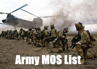 army mos list
