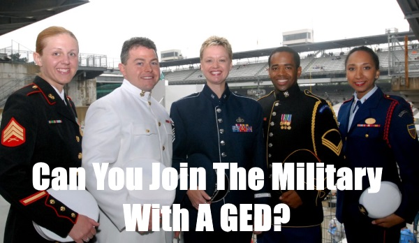 can you join the military with a ged