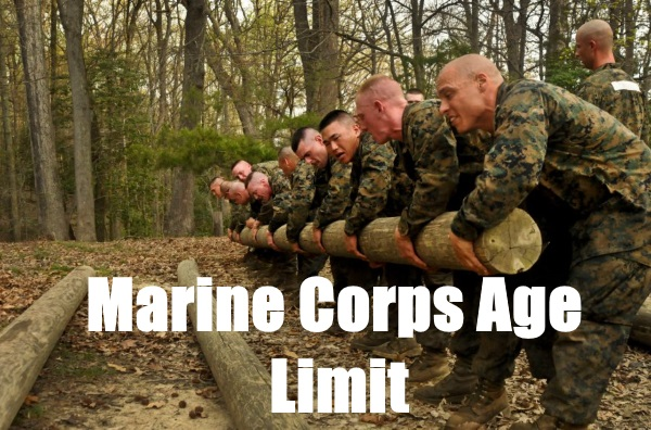 marine corps age limit