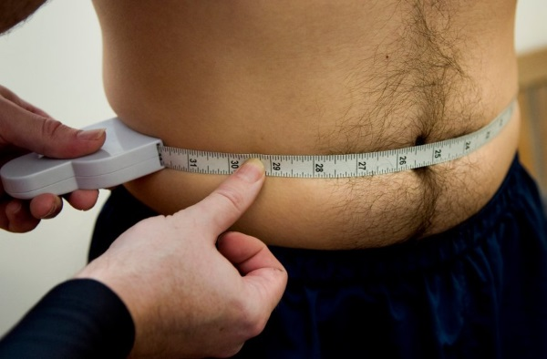 measuring your waist in the navy