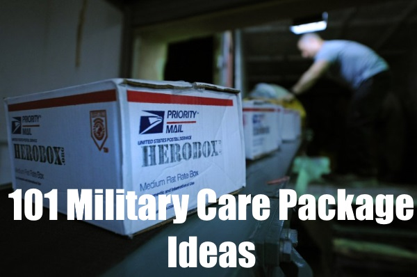military care package ideas