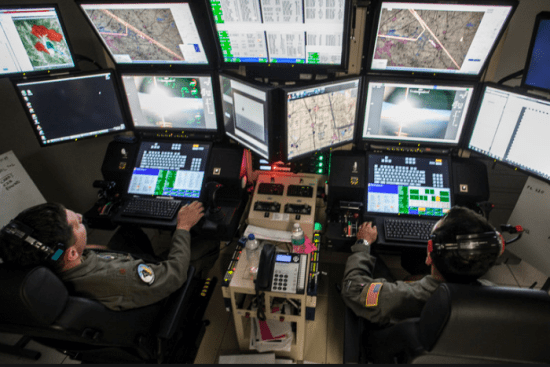 an Fighter/Remotely Piloted Aircraft Maintenance at work