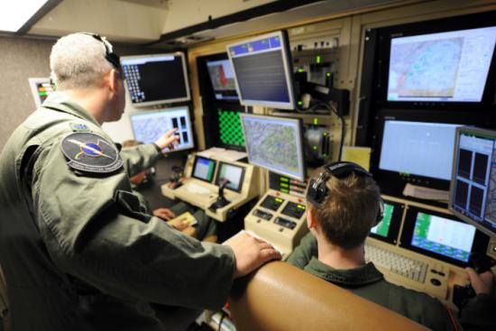 an Sensor Operator at work