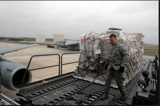 an Air Transportation at work