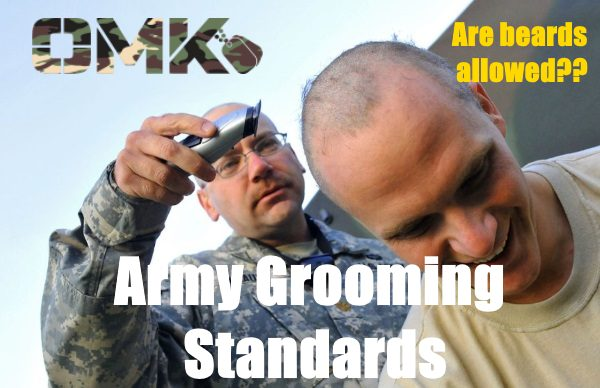 army grooming standards