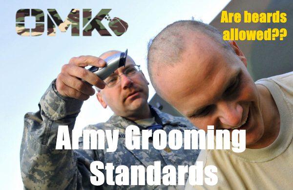 army grooming standards