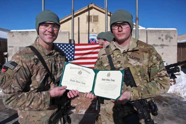 example of an honorable discharge certificate
