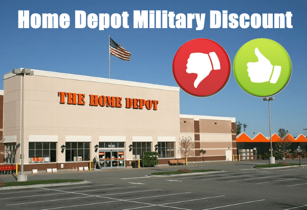 Home Depot Military Discount Updated 2020 Veterans Day