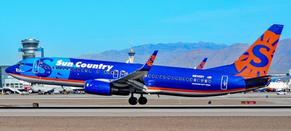 sun country airlines military discount