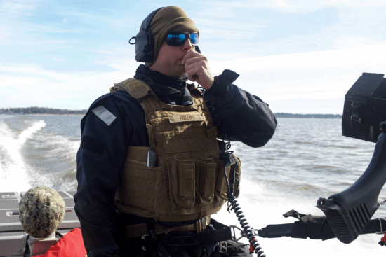 an Port Security Specialist at work