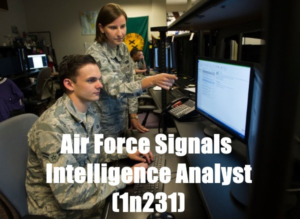 air force signals intelligence analyst afsc 1n231