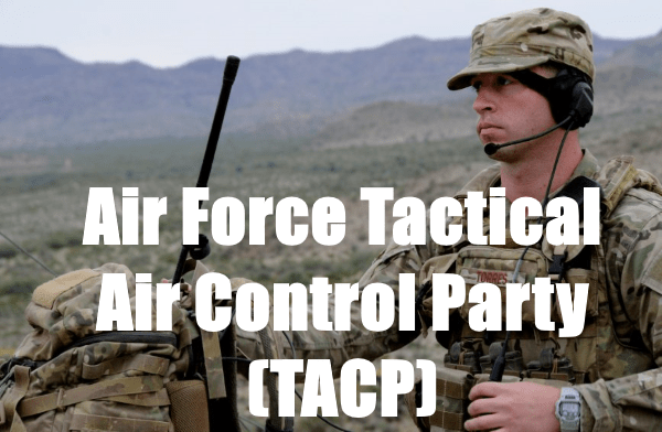 air force tactical air control party - tacp