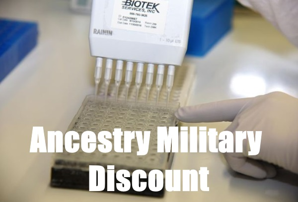 ancestry military discount