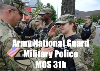 army national guard military police mos 31b
