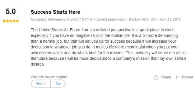 geospatial intelligence analyst job review
