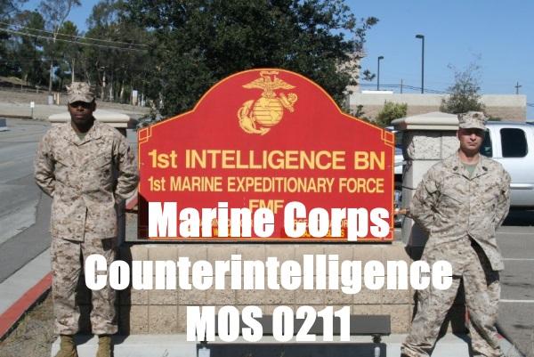 marine corps counterintelligence mos 0211