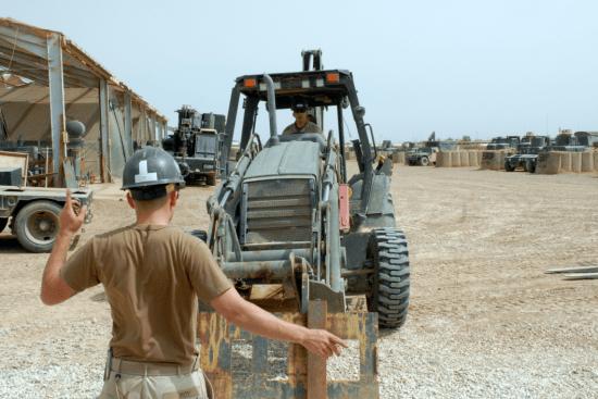 an Equipment Operator at work