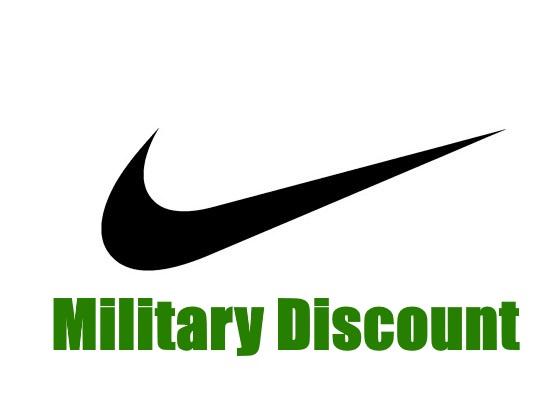 nike military discount