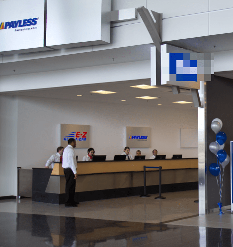 payless car rental military discount