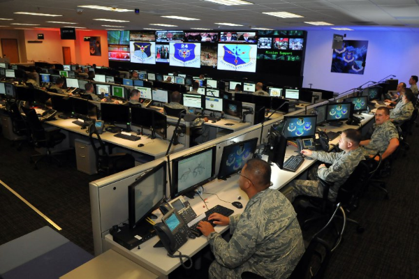 air force command and control operations center