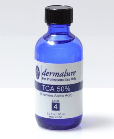 dermalure tca peel for tattoo removal