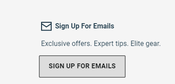 eastbay newsletter signup for discounts