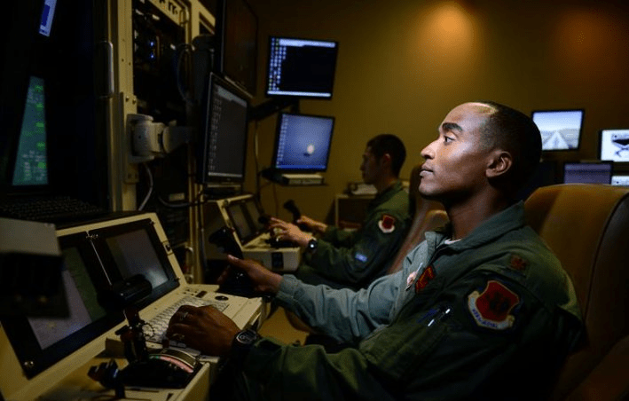 air force drone pilots