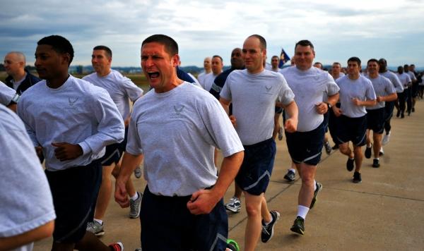 Air Force PT Test Standards