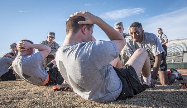 army pt test standards