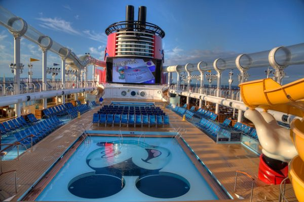 disney cruise pool