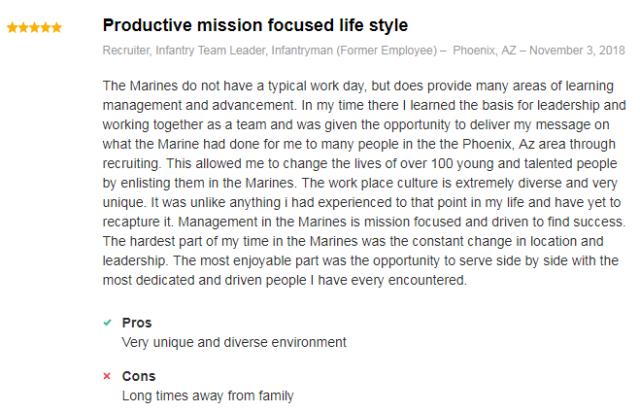 marine corps infantryman team leader review