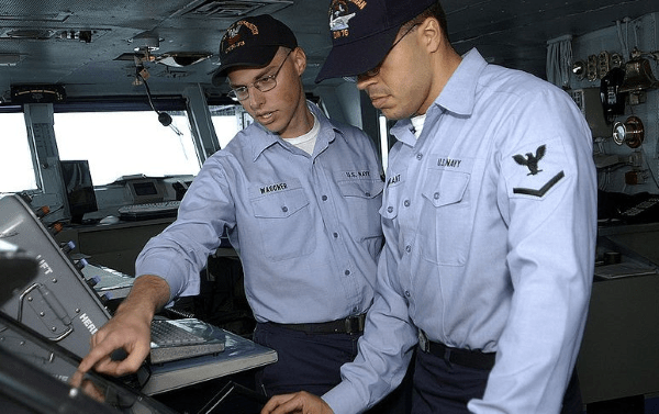 navy quartermaster - qm rate