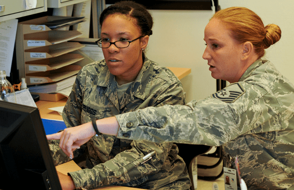health services management air force