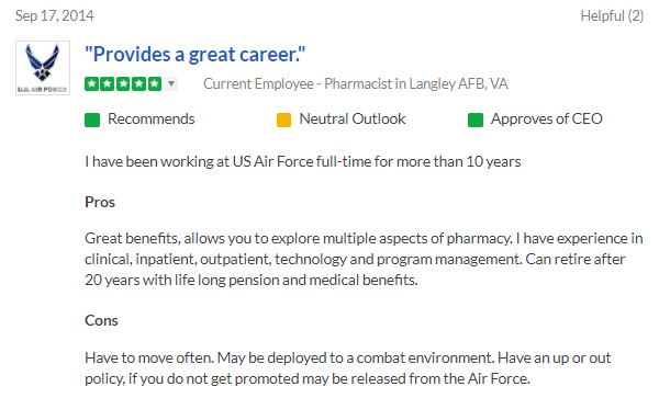 Air Force Pharmacist