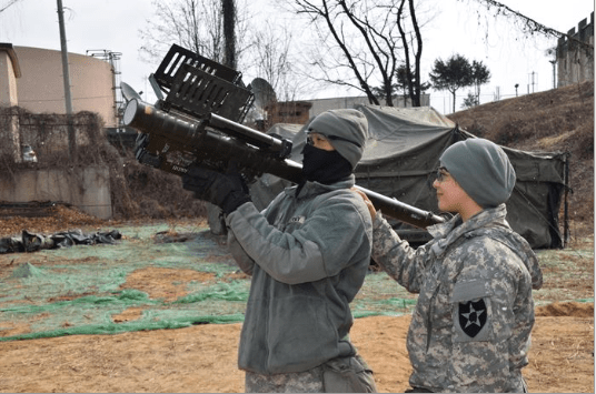 Army Air Defense battle management system operator