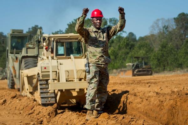 army horizontal construction engineer - mos 12n