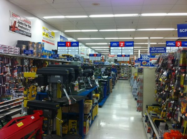 harbor freight interior