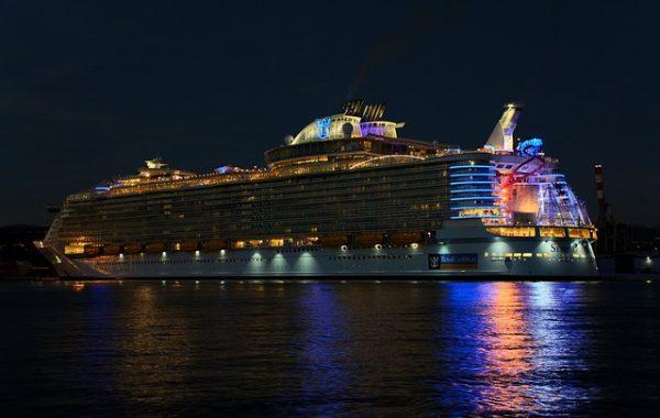 royal caribbean night