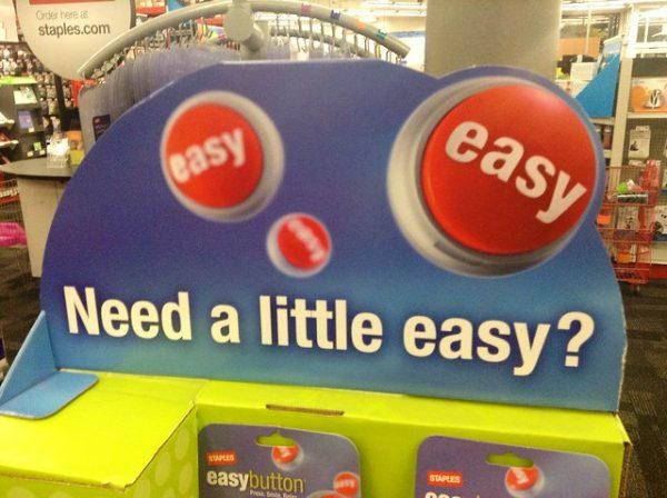 staples easy button