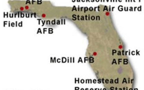 air force bases in florida