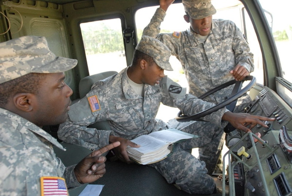 army 25s operator