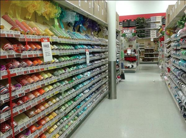 michaels ribbon aisle