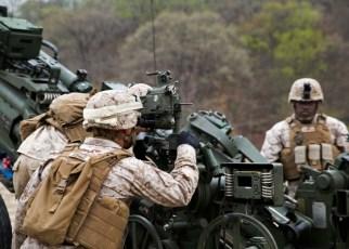 Marine Corps Field Artillery Fire Control Man - MOS 0844