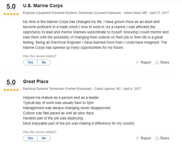 Marine Corps MOS 1142