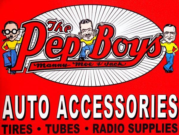 Pep Boys ad