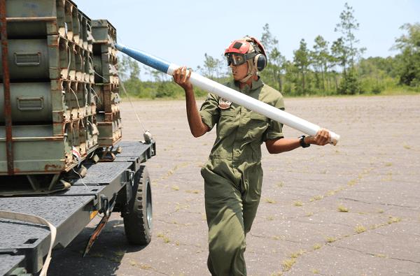 USMC Aviation Ordnance Systems Technician MOS 6541